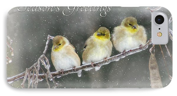Season's Greetings Phone Case by Lori Deiter