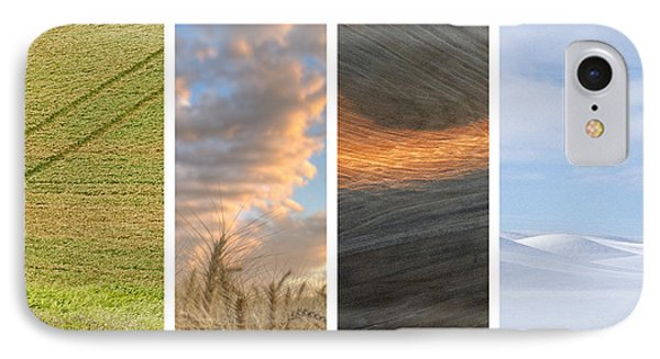 Seasons Of The Palouse II IPhone Case by Latah Trail Foundation