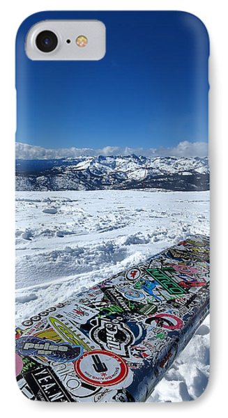 Seat At The Top Of The World IPhone Case by Paul Foutz