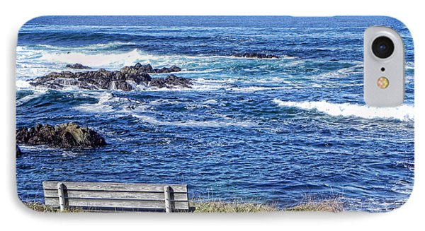 Seat With A View IPhone Case by Kathy Churchman