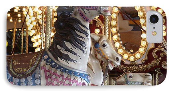 IPhone Case featuring the photograph Seattle Carousel by Laura  Wong-Rose