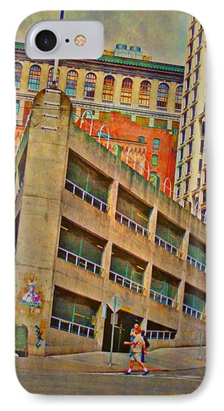 Seattle Cityscape - Vertical IPhone Case by Lyn Voytershark