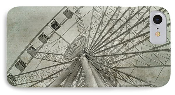 Seattle Great Wheel IPhone Case by Jeff Swanson