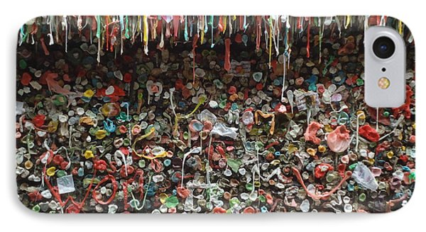 IPhone Case featuring the photograph Seattle Gum Wall 3 by Ann Johndro-Collins