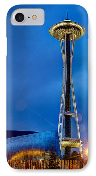 Seattle Impressions IPhone Case by Wade Brooks