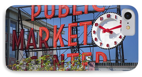 Seattle Market  Phone Case by Brian Jannsen