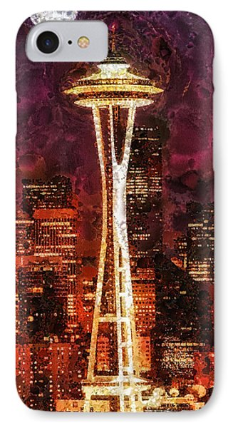 Seattle Phone Case by Mo T