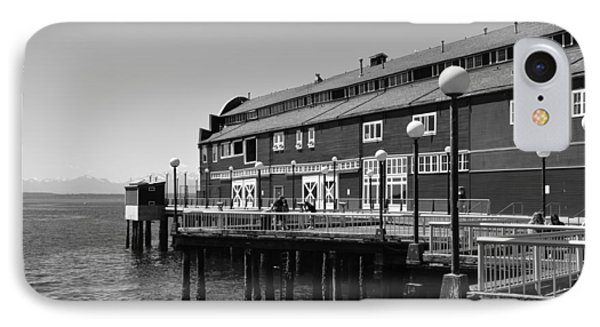 IPhone Case featuring the photograph Seattle Pier by Kirt Tisdale