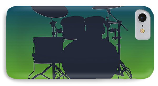 Seattle Seahawks Drum Set IPhone Case by Joe Hamilton