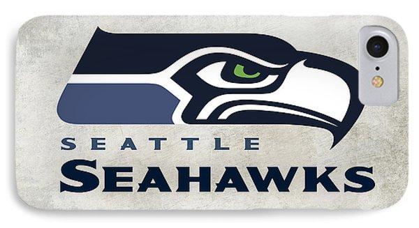 Seattle Seahawks Fan Panel IPhone Case by Daniel Hagerman