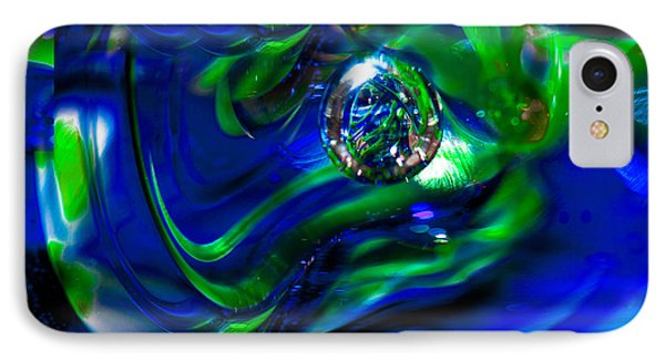 Seattle Seahawks Glass Macro Abstract IPhone Case