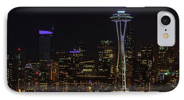 Seattle Skyline 1 IPhone Case