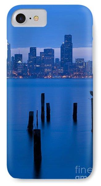 Seattle Skyline Sunrise IPhone Case by Jim Corwin