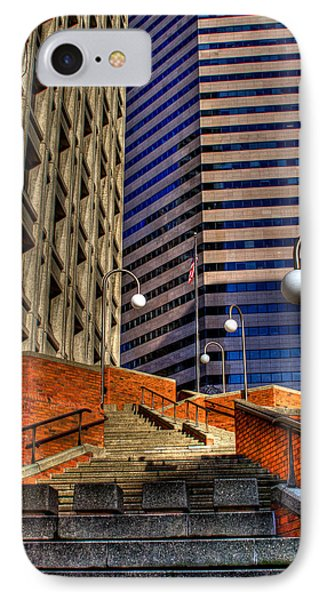 Seattle Skyscrapers IIi Phone Case by David Patterson