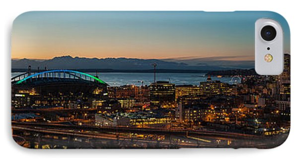 Seattle Sunset IPhone Case by Mike Reid