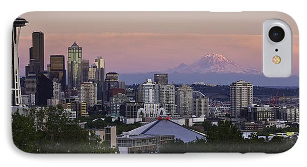 Seattle Sunset - Kerry Park IPhone Case