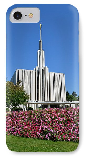 Seattle Temple IPhone Case