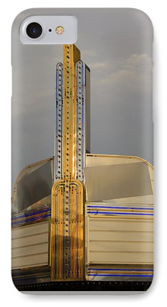 Seattle Theatre IPhone Case by Suzanne Lorenz