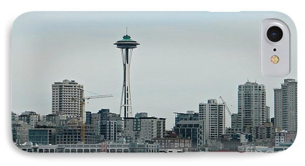 Seattle Washington IPhone Case by Chalet Roome-Rigdon