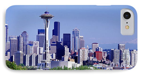 Seattle, Washington State, Usa IPhone Case by Panoramic Images