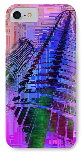 Seattle Westin Cubed 1 IPhone Case by Tim Allen