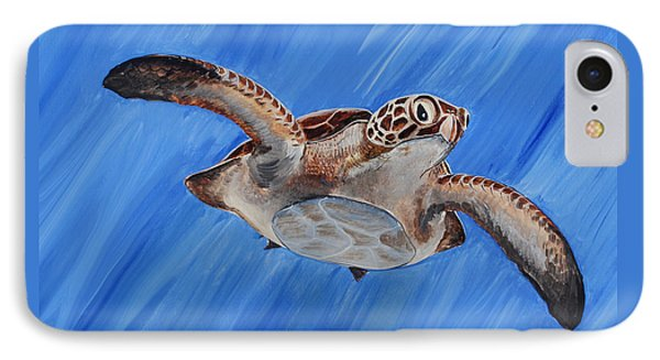 Seaturtle IPhone Case by Steve Ozment