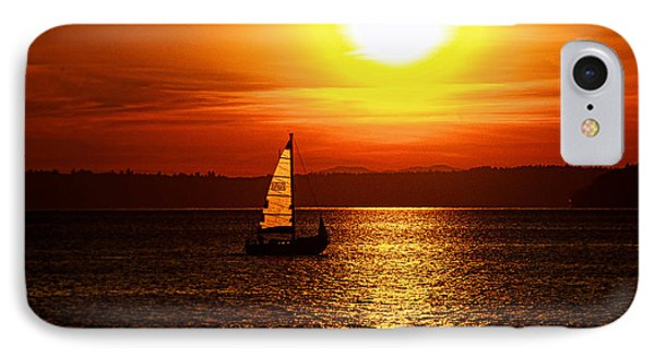 Seaview Sunset IPhone Case by Jerry Cahill
