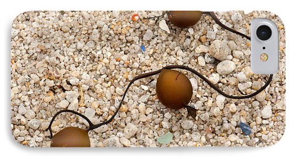 Seaweed And Sand - Jewels Of The Ocean Phone Case by Artist and Photographer Laura Wrede