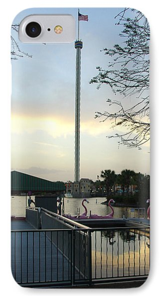 IPhone Case featuring the photograph Seaworld Skytower by David Nicholls