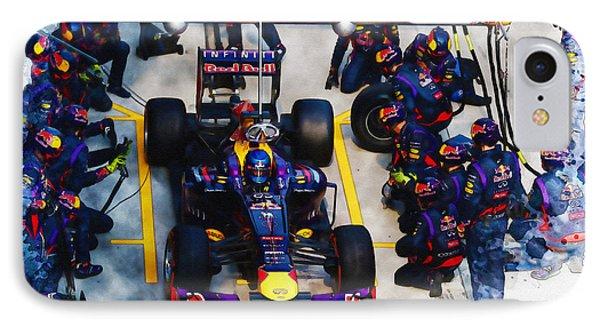 Sebastian Vettel Of Germany IPhone Case