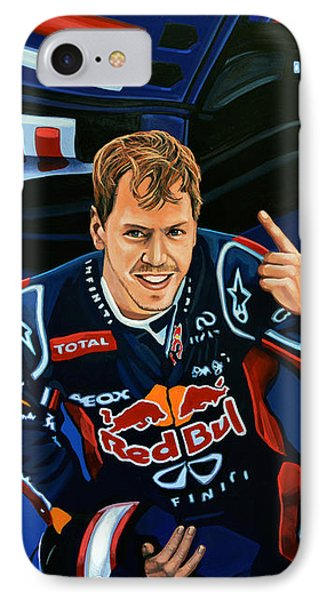 Sebastian Vettel IPhone Case by Paul Meijering