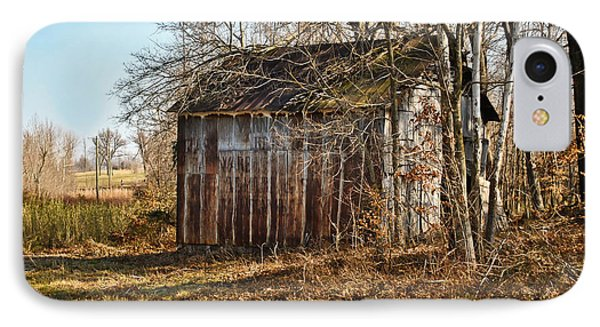 Secluded Barn IPhone Case by Greg Jackson