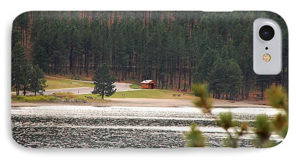 Secluded Cabin IPhone Case by Mary Carol Story