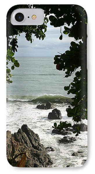 Secluded Shore IPhone Case by Michelle Wiarda