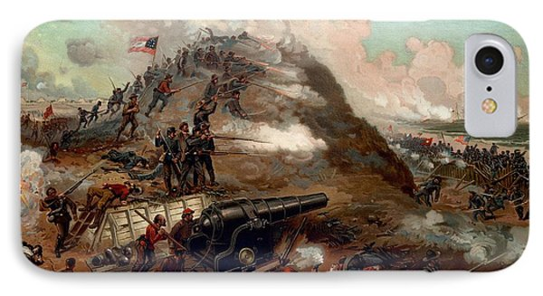 Second Battle Of Fort Fisher IPhone Case