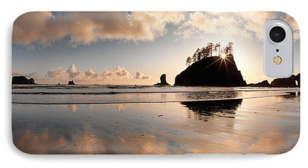 Second Beach IPhone Case by Leland D Howard