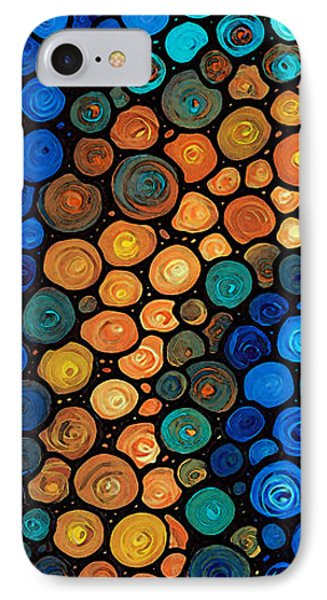 Second Chances - Abstract Art By Sharon Cummings IPhone Case by Sharon Cummings