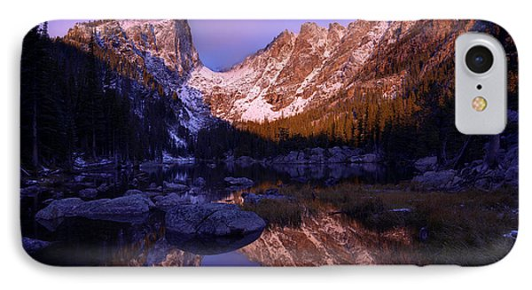 Rocky Mountain iPhone 7 Case - Second Light by Chad Dutson