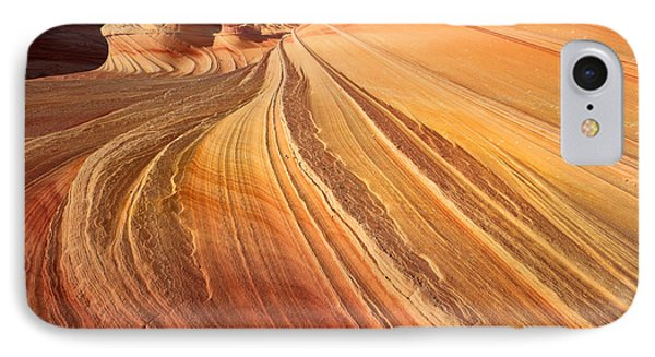 Second Wave Surf Phone Case by Inge Johnsson