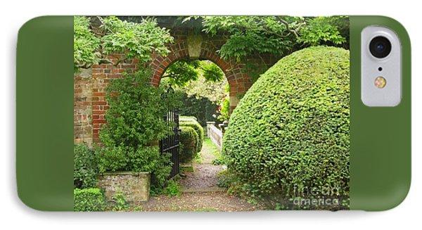 Secret English Garden Phone Case by Ann Horn