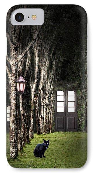 Secret Forest Dwelling Phone Case by Nirdesha Munasinghe