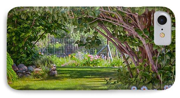 Secret Garden IPhone Case by Omaste Witkowski