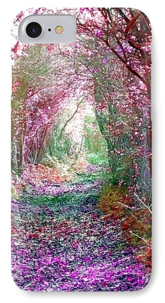 Secret Garden IPhone Case by Vicki Spindler