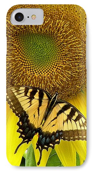 Secret Lives Of Sunflowers IPhone Case
