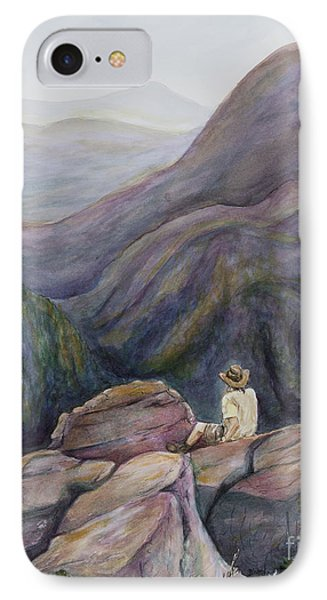 Secret Mountain Solitude IPhone Case by Angie Bray-Widner