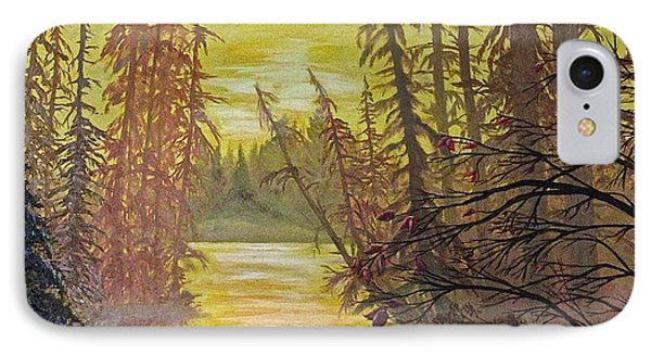 IPhone Case featuring the painting Secret Passage by Bonnie Heather