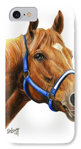 Secretariat With Halter IPhone Case
