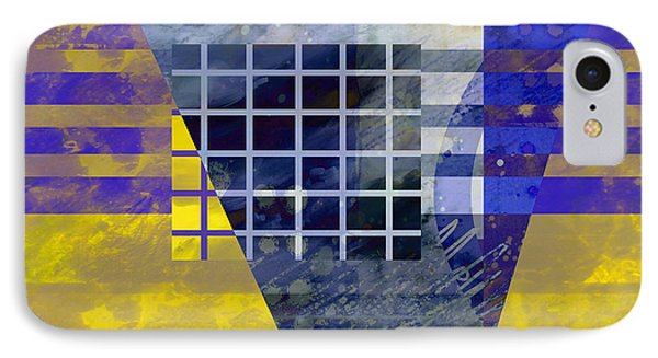 Secrets - Abstract Art Phone Case by Ann Powell