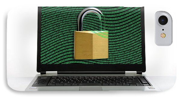 Secure Laptop Computer IPhone Case