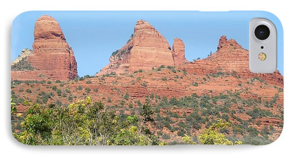 Sedona 2 IPhone Case by David Rizzo